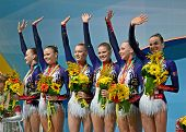 Kiev - Aug 31: 32Nd Rhythmic Gymnastics World Championships On August 31, 2013 In Kiev, Ukraine.
