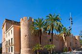 Elche Elx Alicante Altamira Palace near el Palmeral in Spain