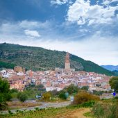 Jerica village Castellon cityscape in Valencian community Spain