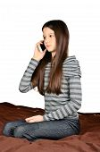 Girl Calling By Phone