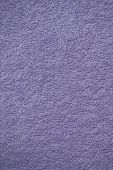 Light Purple Bath Towel Surface Texture, Close Up