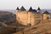 Medieval castle in Khotin, Ukraine