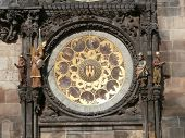 Prague astronomical clock - calendar