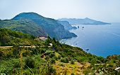 The Coastline Of Lipari