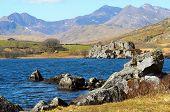 Snowdon From Llynnau Lake