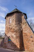 Round Tower In The City Wall Of Xanten