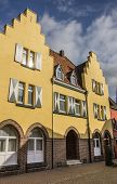 Yellow House In The Old Center Of Xanten