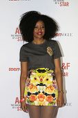 LOS ANGELES - FEB 22:  Aissata at the Abercrombie & Fitch 'The Making of a Star' Spring Campaign Par