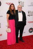 LOS ANGELES - FEB 22:  Ed Asner, daughter at the 45th NAACP Image Awards Arrivals at Pasadena Civic