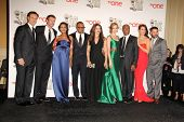 vLOS ANGELES - FEB 22:  Scandal Cast  at the 45th NAACP Image Awards Press Room at Pasadena Civic Au
