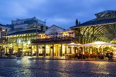 Covent Garden At Dusk
