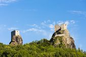ruins of Trosky Castle, Czech Republic