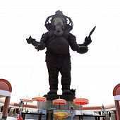 Big Bronze Statue Of Hindu God Ganesh