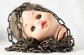 Scary Doll Head