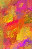 Abstract Multicoloured Background