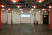 Empty Corridor At Mipap Trade Show In Milan, Italy