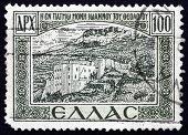 Postage Stamp Greece 1947 Monastery, Patmos