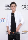 LAS VEGAS - MAY 18:  Austin Mahone arrives to the Billboard Music Awards 2014  on May 18, 2014 in Las Vegas, NV.