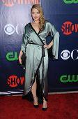 LOS ANGELES - JUL 17:  Elisabeth Harnois arrives to the CBS-CW-Showtime Summer TCA Press Tour 2014