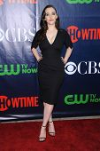 LOS ANGELES - JUL 17:  Kat Dennings arrives to the CBS-CW-Showtime Summer TCA Press Tour 2014  on Ju