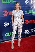 LOS ANGELES - JUL 17:  Keltie Knight arrives to the CBS-CW-Showtime Summer TCA Press Tour 2014  on J