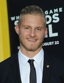 LOS ANGELES - AUG 04:  Alexander Ludwig arrives to the