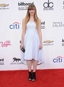 LAS VEGAS - MAY 18:  Aubrey Peeples arrives to the Billboard Music Awards 2014  on May 18, 2014 in L