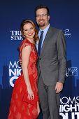 LOS ANGELES - APR 29:  Sarah Drew & Peter Lanfer arrives to the