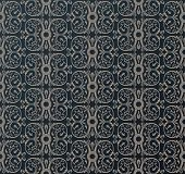 vintage heraldic wallpaper ornate black background