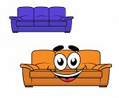 Cartoon couch furniture