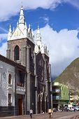 The Cathedral of Banos, Ecuador