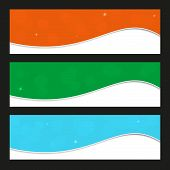 Blank Colorful Banners