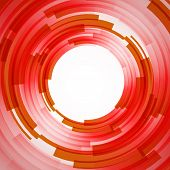 Abstract technology circles vector background