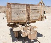 Old Abandoned Mine Railway Truck