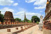 Wat Yai Chaimongkol Ayutdhaya