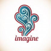 Imagine Retro revival Imagine decal -  Substitute with the work of your choice