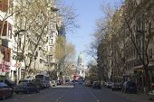 May Avenue In Buenos Aires.