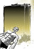 Bodybuilding Poster Background