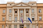 Croatian Parliament (1911) In Zagreb, Croatia