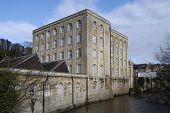 Old Mill Building At Bradford-on-Avon, Wiltshire, England