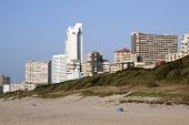 Durban Hotels And Apartments As Seen From Beach