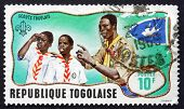 Postage Stamp Togo 1968 Scout Leader Training Cub Scouts
