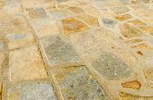 Pavement Of Stone Slabs