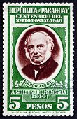 Postage Stamp Paraguay 1940 Sir Rowland Hill