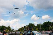 C-130 Hercules, C-295 M Over Warsaw