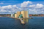 Exit of the Port of Ystad