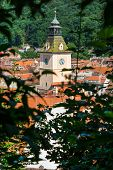 Overview of concil house in Brasov, Transylvania