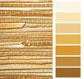grasscloth wallpaper color chart palette swatches