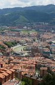 picture of basque country  - View on the center of Bilbao Basque country Spain - JPG