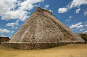 Mayan Pyramid At Uxmal